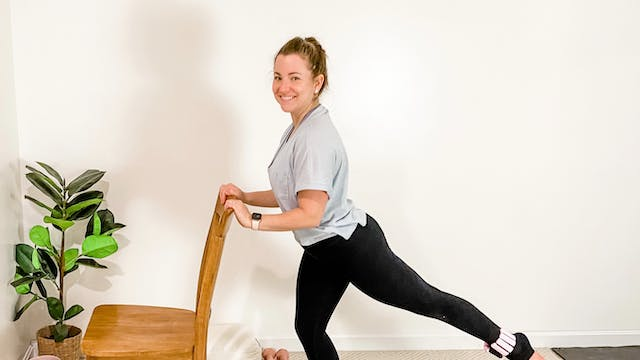 Good Morning Barre Flow with Danielle...
