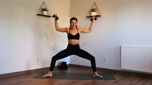 Arms + Abs: YogaSculpt with Missy Fresques