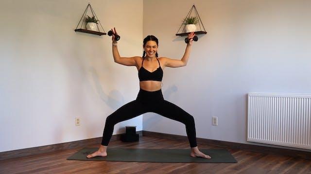 YogaSculpt: Arms + Abs (LIVE CLASS 11...