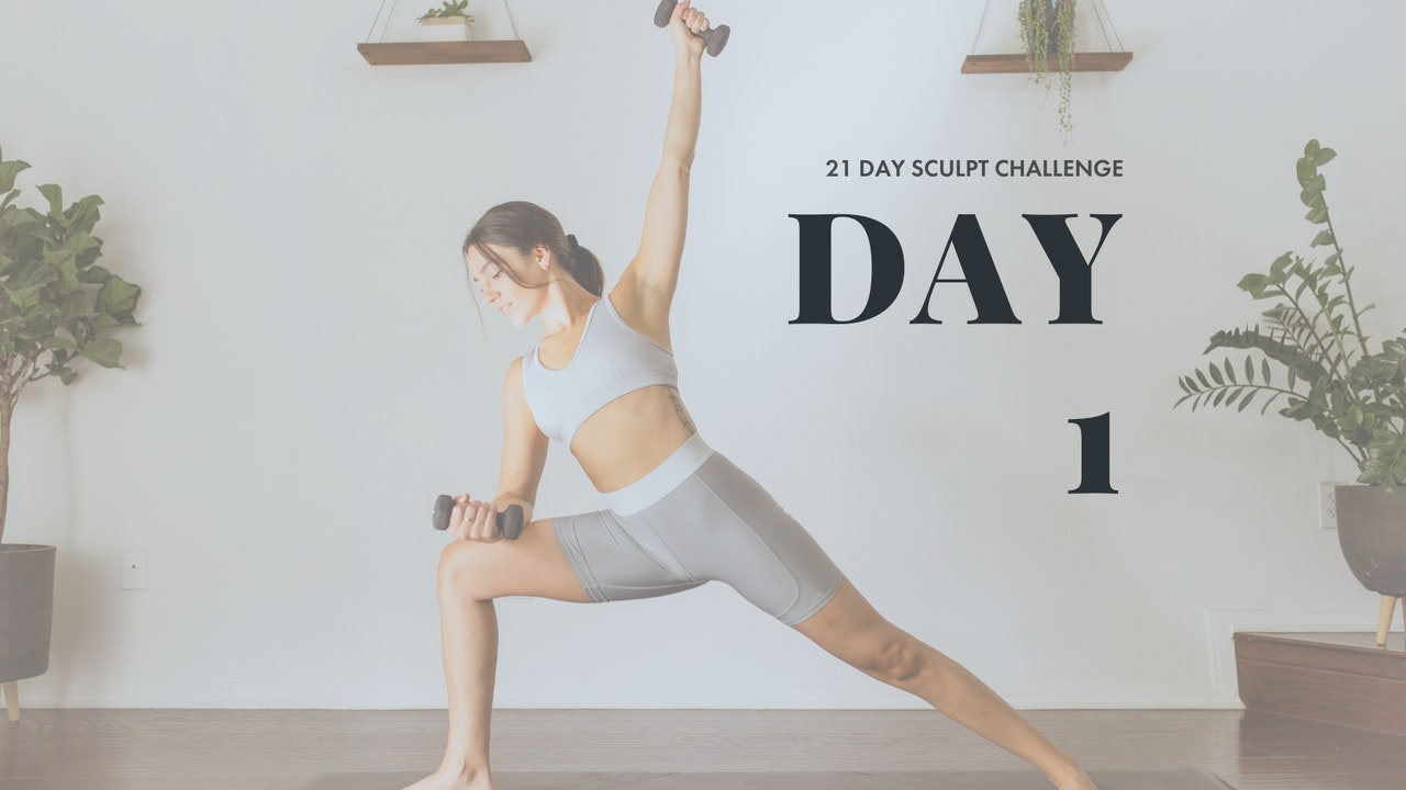 21 Day Sculpt Challenge