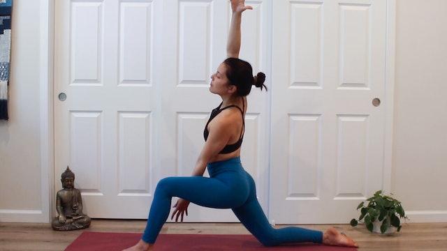 Side Body Flow: Vinyasa with Allison Waldbeser