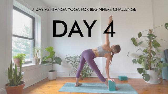 Day 4 Trikonasana: Ashtanga Challenge with Maria Margolies