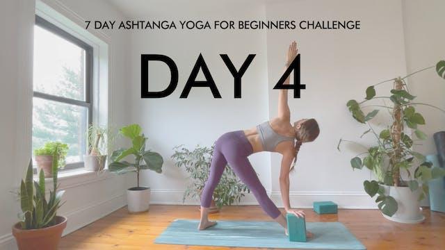 Day 4 Trikonasana: Ashtanga Challenge...