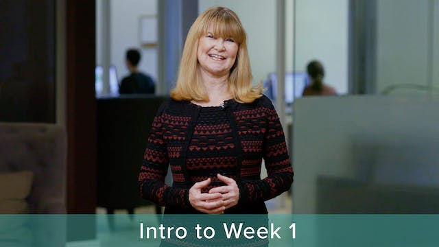 Introduction to Week 1