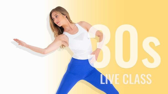 LIVE CLASS WEDNESDAY JANUARY 27TH AT 10:15AM EST