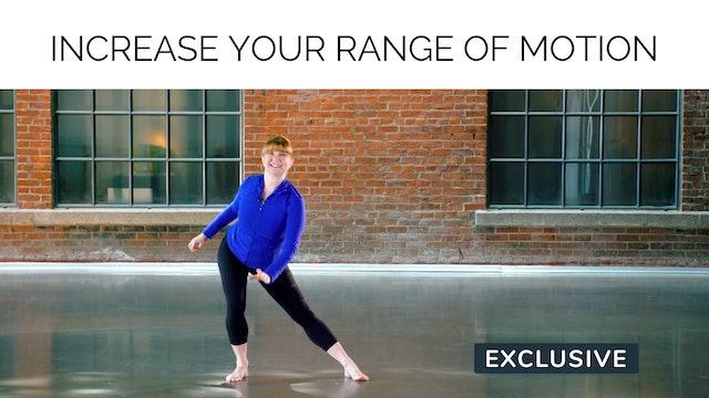NEW 70s Workout: Increase your Range of Motion with Miranda Esmonde-White