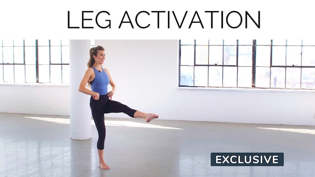 Leg Activation With Amanda Cyr