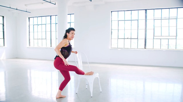 Leg & Butt Sculpting with Meg Feeney (BARRE - stretching)
