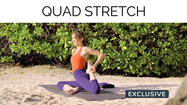 Quad Stretch with Amanda Cyr