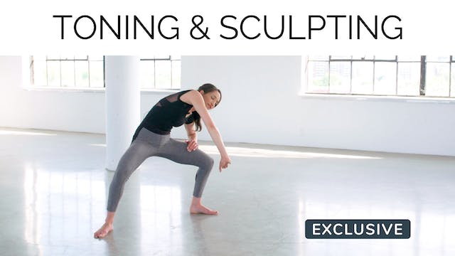 Toning & Sculpting with Alexa Leon
