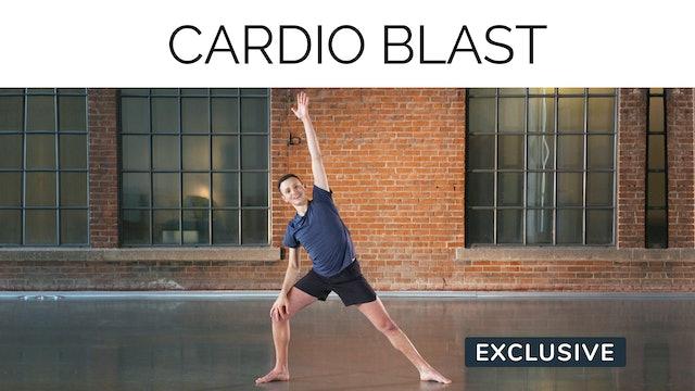 Cardio Blast with Sasha Alcoloumbre