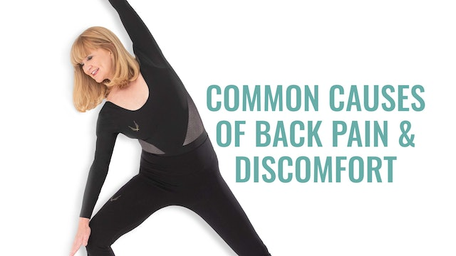 Common Causes of Back Pain & Discomfort Workshop