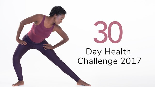 Regular 30 Day Health Challenge 2017