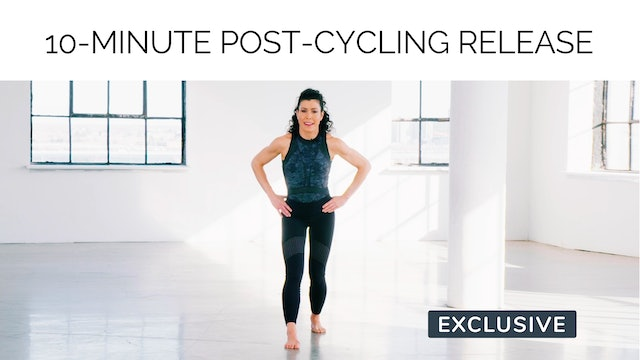 10-Minute Post-Cycling Release with Meg Feeney