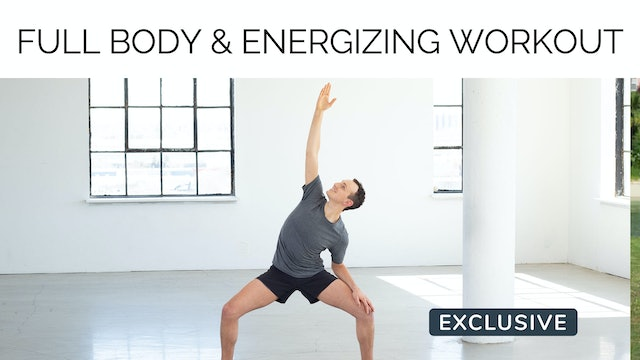 Full Body Toning & Energizing Workout with Sasha Alcoloumbre