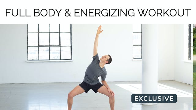 Full Body Toning & Energizing Workout...