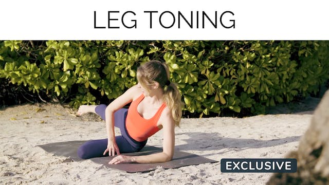 Leg Toning with Amanda Cyr