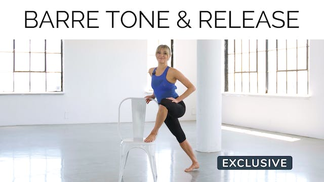 Barre Tone & Release with Gail Garceau