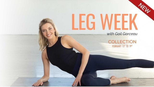 Essentrics Leg Week with Gail Garceau
