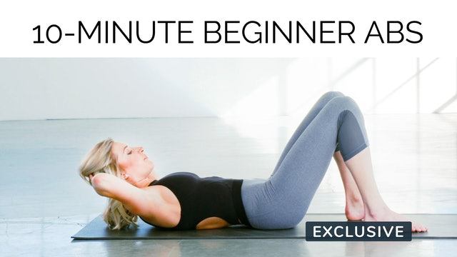 10-Minute Beginner Abs with Gail Garceau