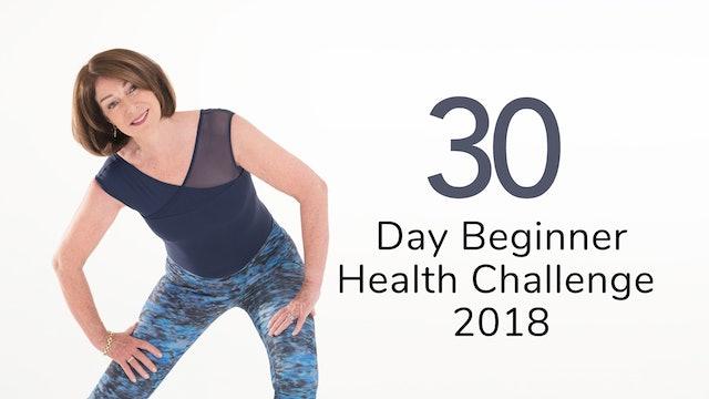 Beginner 30 Day Health Challenge 2018