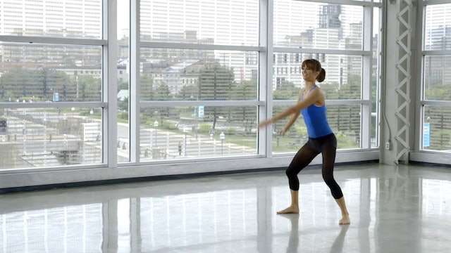 Barre Workout: Standing Portion with Sahra Esmonde-White