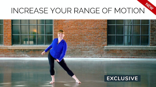 NEW 70s Workout: Increase your Range of Motion with Miranda Esmonde-White