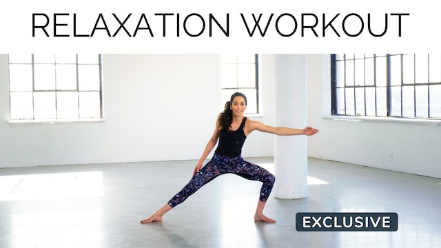 Relaxation Workout with Alexa Leon