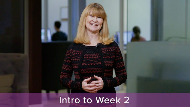 Introduction to Week 2