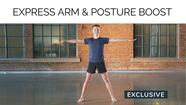 Express Arm & Posture Boost with Sash...