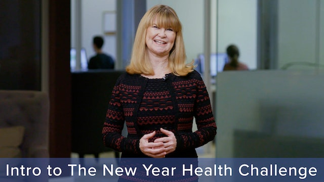 Introduction to The New Year Health Challenge