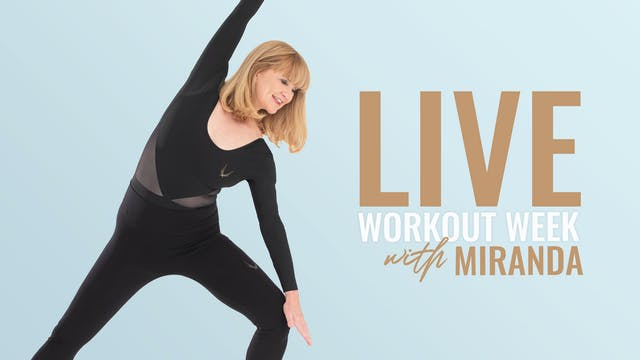 LIVE CLASS MONDAY JUNE 15TH AT 12:00P...