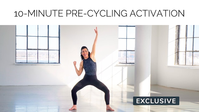 10-Minute Pre-Cycling Activation with Meg Feeney