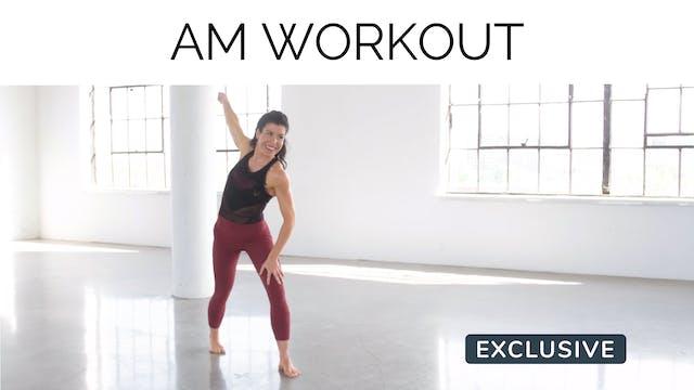 AM Workout with Meg Feeney