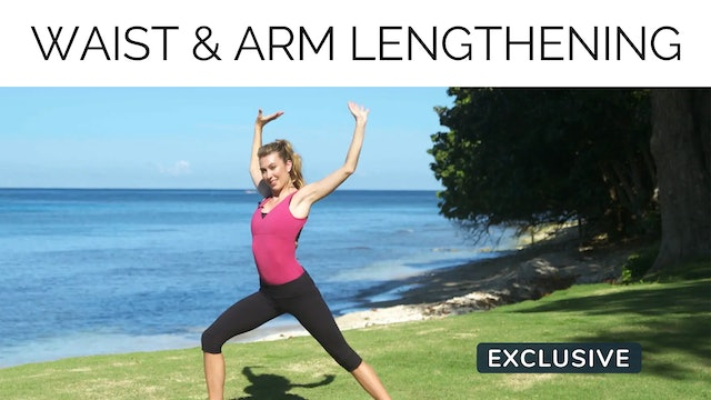 Waist & Arm Lengthening with Amanda Cyr