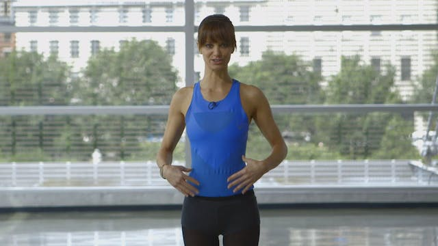 Intro to the Barre Workout with Sahra...