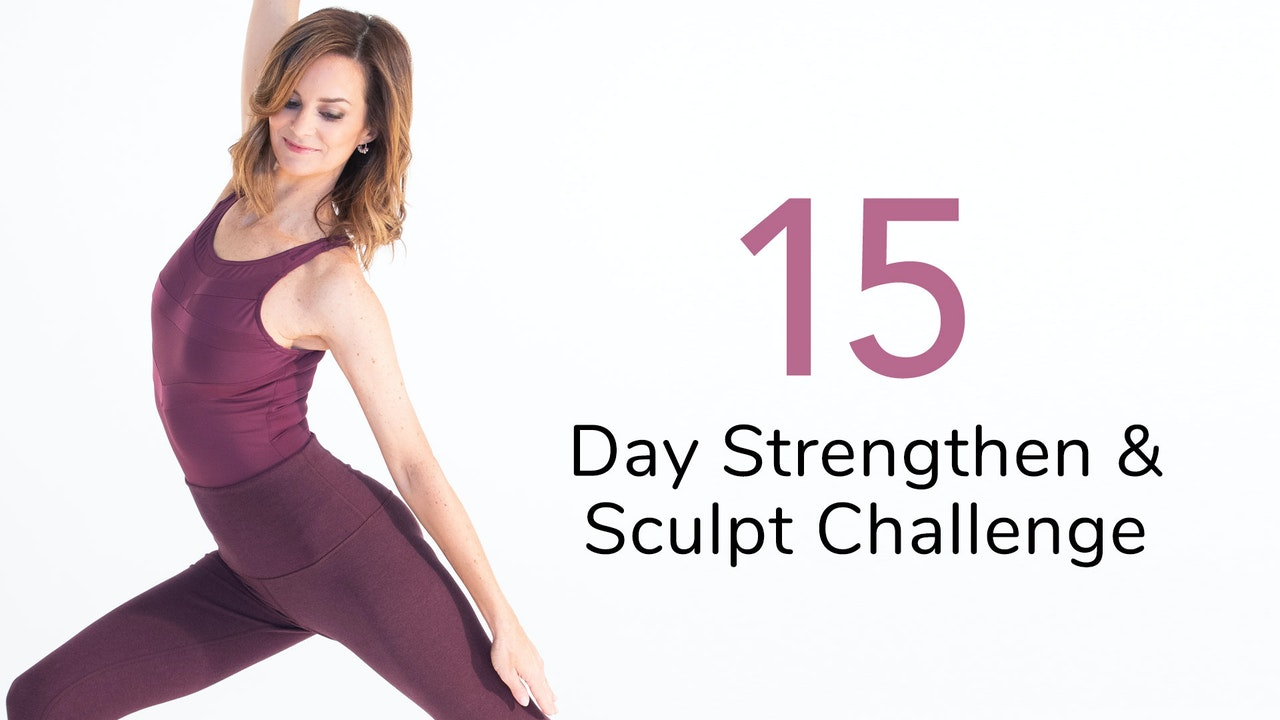 15-Day Strengthen & Sculpt Challenge