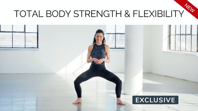 NEW 30s Workout: Total Body Strength & Flexibility with Meg Feeney