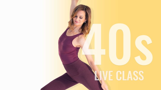 LIVE CLASS TUESDAY JANUARY 12TH AT 9:15AM EST