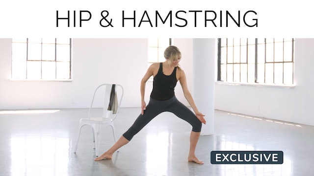 Hip & Hamstring Stretch with Gail Garceau