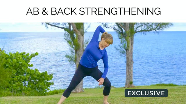 Season 13 Ep.02 Ab & Back Strengthening