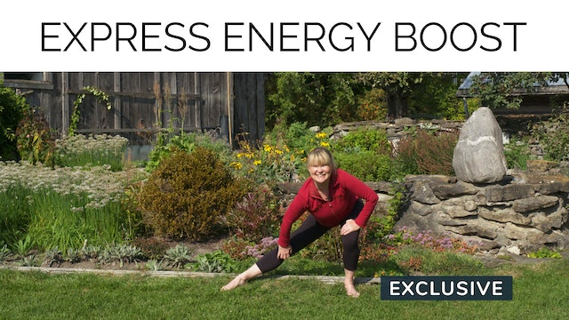 Express Energy Boost with Miranda Esmonde-White