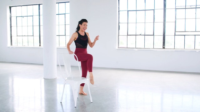 Leg & Butt Sculpting: Barre Portion with Meg Feeney