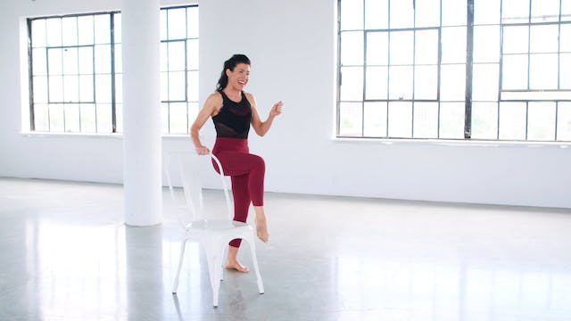 Leg & Butt Sculpting: Barre Portion w...