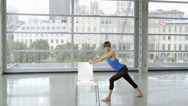 Barre Workout: Barre Stretch with Sahra Esmonde-White
