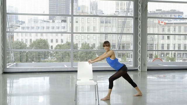 Barre Workout: Barre Stretch with Sah...