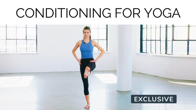 Conditioning For Yoga with Amanda Cyr