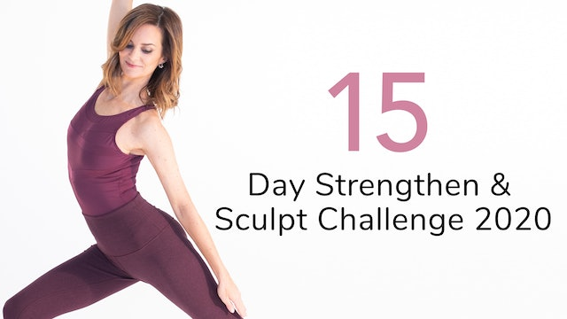15-Day Strengthen & Sculpt Challenge