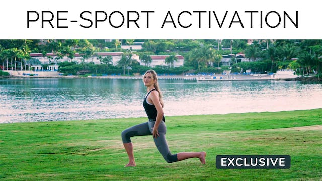Pre-Sport Activation with Gail Garceau