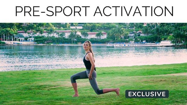 Pre-Sport Activation with Gail Garceau